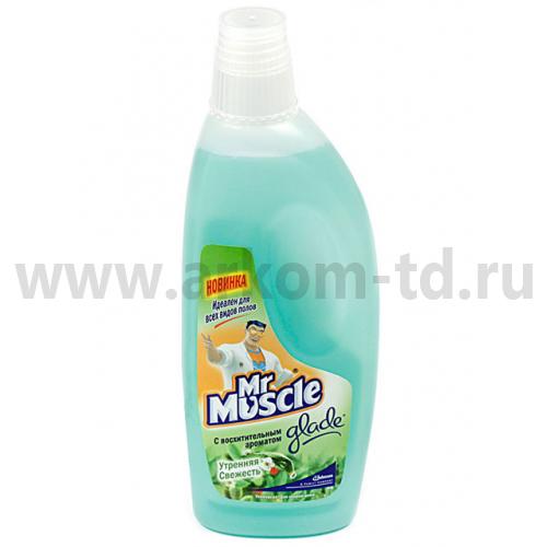 Чистящее средство универсальное для полов Мистер Мускул 500 мл (Утренняя свежесть)