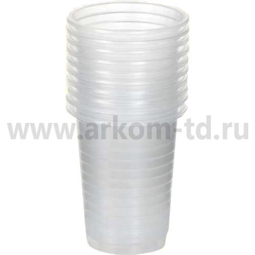 Стакан одноразовый 100мл/100 шт прозрачный