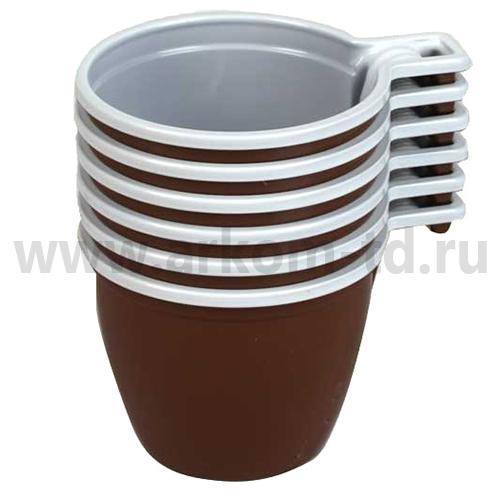 Одноразовая чашка кофейная 180мл (50шт/уп)