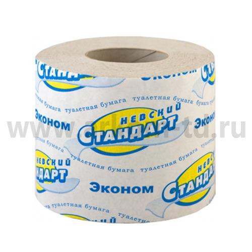 Бумага туалетная Стандарт 44м (1сл)