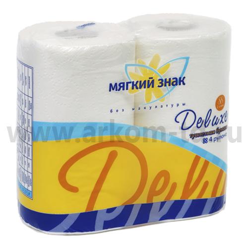 Бумага туалетная Делюкс (2сл)