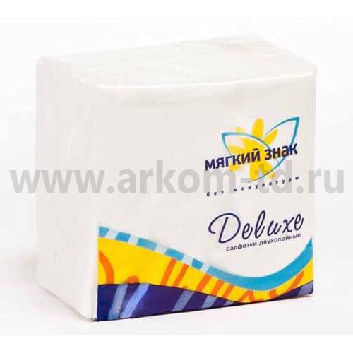 Салфетки бумажные Сясь 100 шт.уп (двухслойные)
