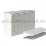 Полотенца бумажные ZZ(V) 200 листов 25х21см белые (1сл