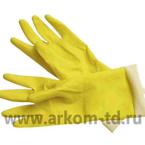 Перчатки латексные с нормальной плотностью