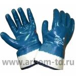 Перчатки нитриловые КРАГИ полный облив