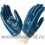 Перчатки нитриловые РЕЗИНКА полный облив