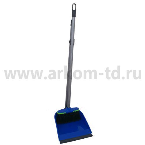"""Совок для мусора с длинной ручкой + щетка """"Лень"""" (Стандарт)"""