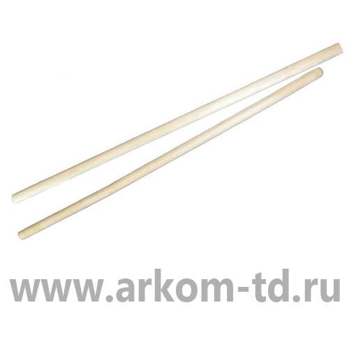 Черенки деревянные для граблей D=28-30мм, длина 1,2м, высший сорт