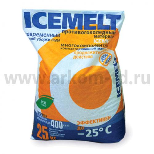 Айсмелт 25кг до -25 противогололедный реагент
