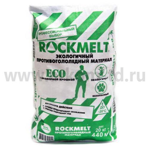 """Противогололедный реагент """"ROCKMELT ECO"""" 20кг (-20С)"""