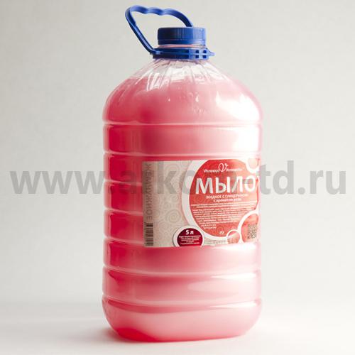 Мыло жидкое Вкусная косметика 5л с перламутром