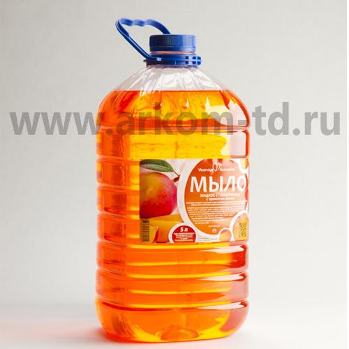 Мыло жидкое Вкусная косметика 5л с глицерином