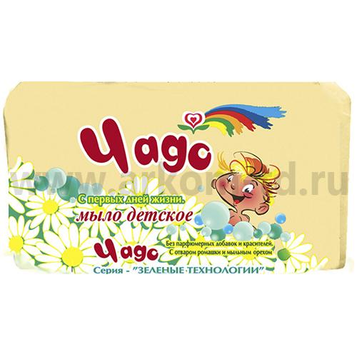"""Туалетное детское мыло """"Чадо"""" Аист 90г"""