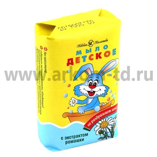 Мыло туалетное Детское 90 гр Невская косметика