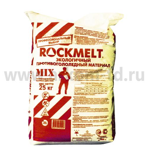 """Противогололедный реагент  """"ROCKMELT MIX"""", 20кг (-25С)"""