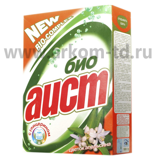 Стиральный порошок Аист-био 400 гр