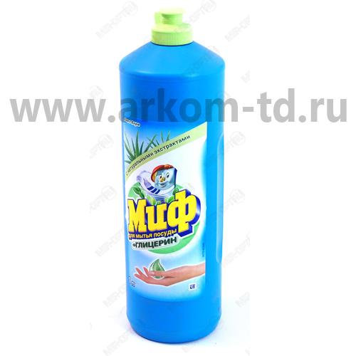 Средство для мытья посуды Миф 1л