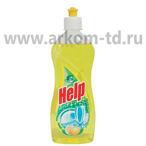 Средство для мытья посуды Хэлп-гель 500мл
