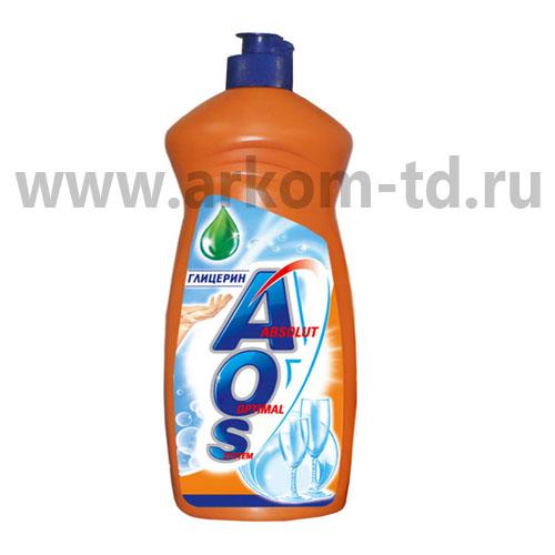 Средство для мытья посуды Аос в ассортименте 1л SALE!