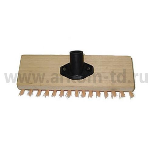 Щетка полотерная на деревянной основе