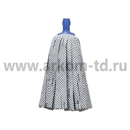 Моющая насадка Супер-Моп Антибак 10х33см серый арт. 137908/137904 Виледа