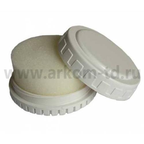 Губка для обуви в пластике круглая Флер Де Лиз SALE!