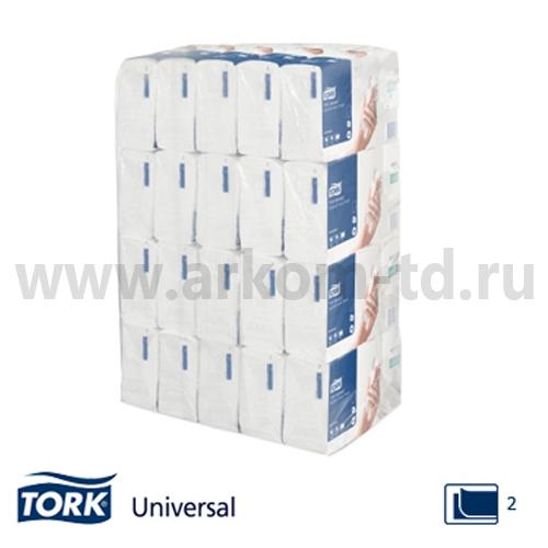 Бумажные полотенца Tork H2 Universal Multifold 190л 2сл