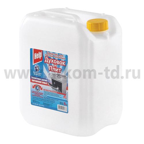 Чистящее средство Хэлп от нагара для плит и духовок 5л