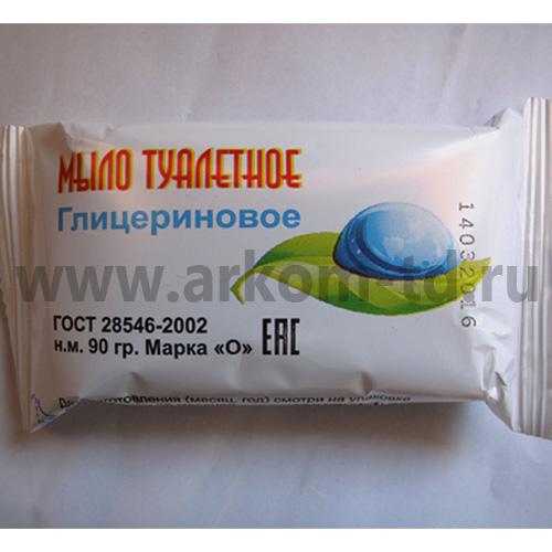 Мыло туалетное Глицериновое 100г(Мыловар)