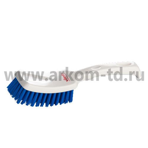 Щетка гигиеничная ручная (цвет голубой ) арт. 145874/100269 Виледа