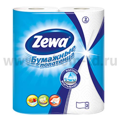 Бумажные полотенца Зева 2 сл./2шт. (Zewa)